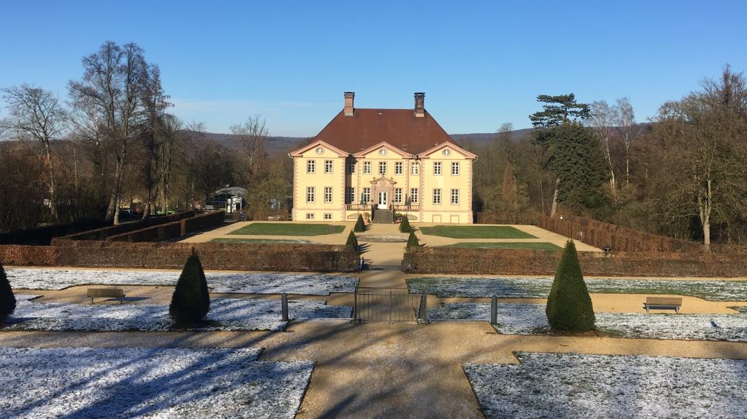 Schloss Schieder im Winter 2019